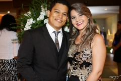Raniele Prudêncio e Lorena Apolônio