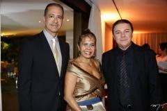 Régis Medeiros, Selma Cabral e Eliseu Barros
