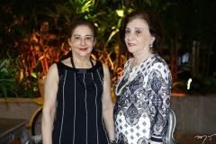 Vânia Aldigueri e Fátima Pinheiro