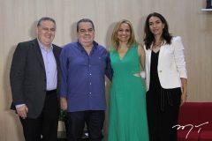 Fernando Barroso, Aristeu Holanda, Neuza Márcia Falcão e Maria Venâncio