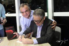 Fernando Barroso lança livros no Conselho Regional de Medicina