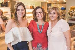 Gisela Franck, Silvana Chaves e Rose Pegado Franck