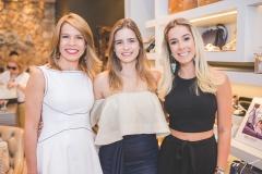 Maira Silva, Gisela Franck e Priscilla Silva