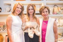 Maira Silva, Gisela Franck e Tane Albuquerque