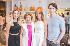 Priscilla Silva, Tane Albuquerque, Maira Silva e André Albuquerque