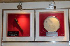 Peças de Till Lindemann e  Guns N' Roses - Memorabilia Hard Rock