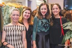 Ariane Costa, Adriana Aldigueri, Patrícia Sampaio e Lorena Cavalcante