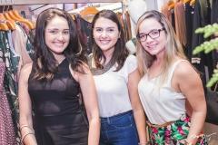 Cecília Gadelha, Maira Barbosa e Amanda Almeida