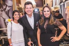 Munik Nunes, Gustavo Serpa e Anna Oquendo