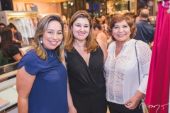 Suzana Figueiredo, Adriana Aldigueri e Socorro Trindade