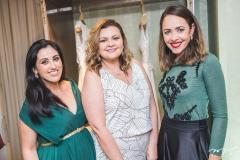 Ticiane Firmeza, Larissa Maia e Patrícia Sampaio