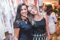 Tiza Alencar e Larissa Vieira