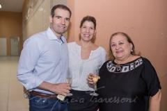 Eduardo Figueiredo, Elisa Figueiredo e Fátima Andrade