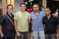 Lincoln Matos, Dartagnan Júnior, João Paulo Fontenele e Hugo Martins