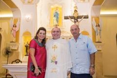 Márcia Travessoni, Padre Eugênio e Fernando Travessoni