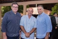 Marcos Gomide, Fernando Travessoni e Valdizio Pinheiro