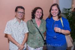 Mário Sanders, Ana Monteiro e Kariny Senna