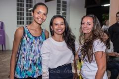 Morena Vidal, Brenda Vieira e Jalisa Oliveira
