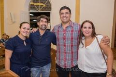 Rafaela Motozo, Rodnei de Castro, Bertam e Helana Lima