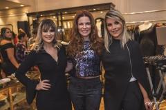Ingrid Teixeira, Cláudia Quental e Isadora Girão