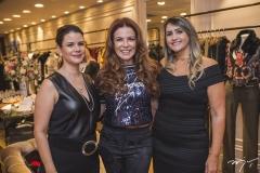 Lília Girão, Cláudia Quental e Maeli Fernandes