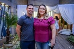 Adriano Amorim e Izabela Reis