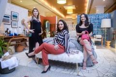 Aline Diogenes, Rafaela Teixeira e Sarah Carneiro