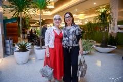 Fernanda Santos e Lúcia Volf