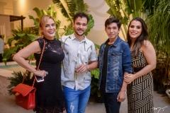 Katinha Rodrigues, Felipe Gradvohl, Junior Coutinho e Larissa Duarte
