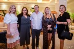 Linda Nunes, Claudia Castelo Branco, Françoar Sharon, Stelinha Frota Salles e Paula Picanço
