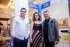 Luciano Krai, Ana Catarina e Omar de Albuquerque