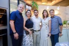 Márcio e Paula Magalhães, Gustavo Augusto, Daniela Cabral e Gilberto Costa