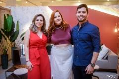 Marília Coutinho, Renata Reis e Fernando Septimus
