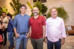 Marcos Aurélio Duarte, Pablo Costa e Davi Mendes