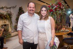 Marcelo Barros e Amanda Bessa