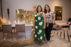 Patrícia Andrade e Betânia Saraiva