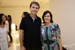 Alexandre Landim e Neuma Figueiredo