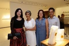 Ana Valesca, Maria-Carmen Perlingeiro, Luciana Eloy e Franklin Pedroso