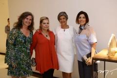 Bia Perlingeiro, Andréa Braga, Maria-Carmen Perlingeiro e Rossita Cosulita