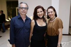 Eduardo Alencar, Ticiana Ponte e Manoela Correia