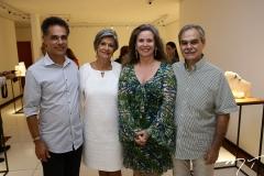 Franklin Pedroso, Maria-Carmen Perlingeiro, Bia e Max Perlingeiro