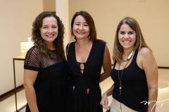 Luiza Bezerra, Sheyla Araujo e Ivana Karan