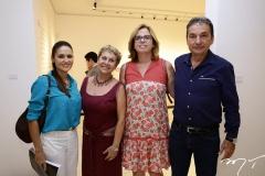 Manoela Barcelar, Bete, Jaqueline e Victor Medeiros