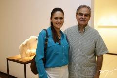 Manoela Barcelar e Max Perlingeiro