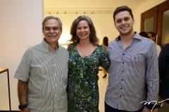 Max, Bia e Victor Perlingeiro