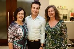 Neuma Figueiredo, Rodrigo Maia e Bia Perlingeiro