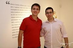 Rafael Menezes e Júlio de Araújo