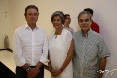 Verialdo Arrais, Maria-Carmen e Max Perlingeiro
