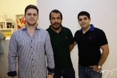 Victor Perlingeiro, Antônio Almeida e Fernando Laprovitera