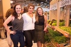 Larissa Bezerra, Andrea Cardoso e Rebeca Vermon
